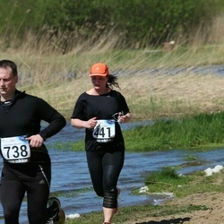 44. jooks ümber Harku järve - Annika Ole (441)