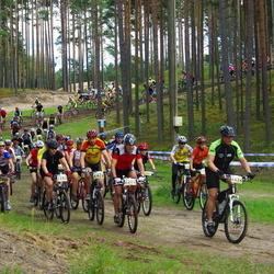 Samsung Estonian Cup 7. etapp Jõulumäe - Annika Eamets (2262), Agris Eensalu (2292), Mart Müristaja (2302), Risto Kaar (2475)