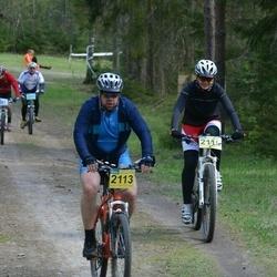 18. Tallinna Rattamaraton - Erki Kikkerpill (2113), Birke Pikkoja (2115)