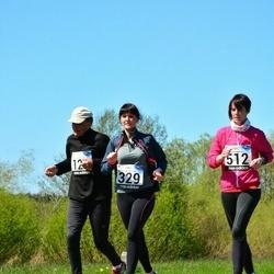 44. jooks ümber Harku järve - Tatjana Linnik (329), Anna-Liisa Pääsukene (512)