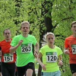 Tartu Kevadjooks - Marion Tibar (120), Tarvo Treier (263)