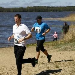 44. jooks ümber Harku järve - Anatoli Umnov (707), Janar Holm (803)