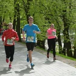 Tartu Kevadjooks - Kati Arro (1261), Liisa Soomets (1269), Risto Pirnpuu (1274)