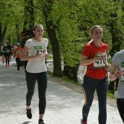 Tartu Kevadjooks - Anni-Mari Pehlak (799), Susi Ann Kaljas (827)