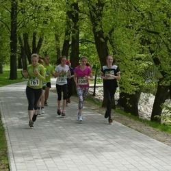 Tartu Kevadjooks - Hannaliisa Visk (761), Ann Kramer (1051), Elina Luik (1080)