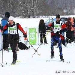 38. Tartu Maraton - Margus Aarniste (2551), Arno Simpson (4931), Eha Suija (5611)