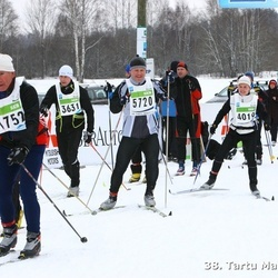 38. Tartu Maraton - Douglas Jackson (1752), Indrek Kaljuvee (3631), Jaanus Kaugerand (3878), Annika Aas (4019), Sven Raidla (5720)