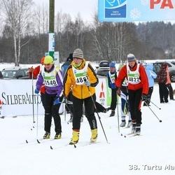 38. Tartu Maraton - Piret Grossthal (4822), Ädu Kriisa (4887), Lembe Marley (5540)