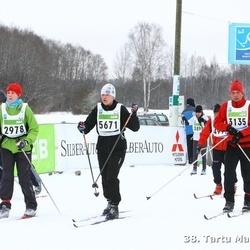 38. Tartu Maraton - Age Sild (2978), Andres Ehavee (3135), Annely Peet (5671)
