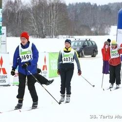 38. Tartu Maraton - Kristjan Aruoja (2026), Anneli Roosi (4076), Pirjo Nurminen (4691)