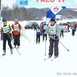 38. Tartu Maraton - Kristjan Aruoja (2026), Anneli Roosi (4076)