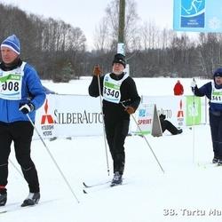 38. Tartu Maraton - Aare Tuul (2008), Sulev Kesküla (3340), Hetti Kask (3611)