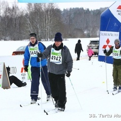 38. Tartu Maraton - Janika Rohtla (1335), Kristjan Jalukse (3381), Alvin Järving (3646), Kalle Kolberg (4942)