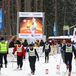 38. Tartu Maraton - Leena Lättemägi (4035), Aare Lättemägi (4036), Marten Ivarinen (4212), Ilmar Lohu (4816)