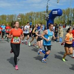 Tartu Kevadjooks - Erkki Hummal (33), Kristiina Laht (234)