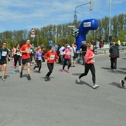 Tartu Kevadjooks - Katrin Gabrel (375), Anni-Mari Pehlak (799), Eveliine Erm (893), Jaan Lusikas (1222)
