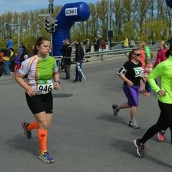 Tartu Kevadjooks - Inge Roose (776), Karina Toming (946), Anna Otsolainen (1064), Evelin Vetevood-Järvelt (1207)