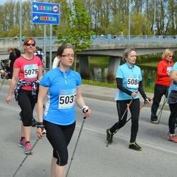 Tartu Kevadjooks - Evelin Lahesoo (5037), Kätlin Juuram (5074), Agne Kalde (5075), Piia Tagel (5084)