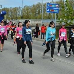 Tartu Kevadjooks - Anneli Roosmäe (5248), Hele Plakso (5249), Merlin Viss (5250)