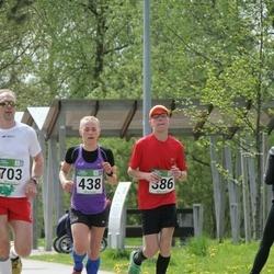 Tartu Kevadjooks - Armin Angerjärv (386), Kaia Lepik (438), Antti Nöps (703)