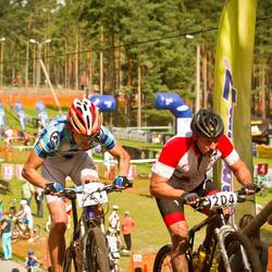 Samsung Estonian Cup 7. etapp Jõulumäe - Aare Piire (204), Üllar Krautmann (221)