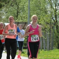 Tartu Kevadjooks - Mari-Liis Liipa (405), Birgit Lausing (744)