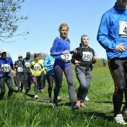 44. jooks ümber Harku järve - Eeva Avik (37), Agne Lund (340)
