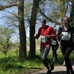 44. jooks ümber Harku järve - Signe Saar (560), Aalo Parmas (855)