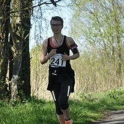 44. jooks ümber Harku järve - Britmarii Kroon (241)