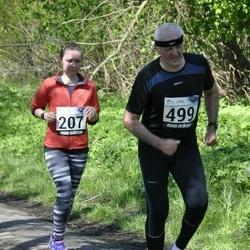 44. jooks ümber Harku järve - Anni Kivimägi (207), Tõnu Pullerits (499)