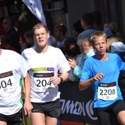 XII Jüri Jaansoni Kahe Silla jooks - Silver Paur (204), Bert Reila (2208)