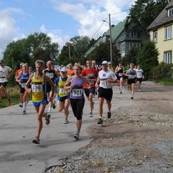 XII Jüri Jaansoni Kahe Silla jooks - Arnold Schmidt (136), Meelis Aasla (221), Annika Vaher (571)