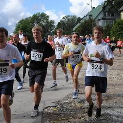 XII Jüri Jaansoni Kahe Silla jooks - Arlet Robert Uusna (320), Paolo Moglia (553), Uku Kruusamägi (924), Raim Maurer (949)