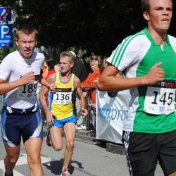 XII Jüri Jaansoni Kahe Silla jooks - Arnold Schmidt (136), Jaan Jantson (189)