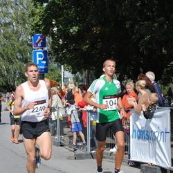 XII Jüri Jaansoni Kahe Silla jooks - Taavet Kutsar (104), Aarne Nirk (2240)