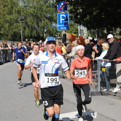 XII Jüri Jaansoni Kahe Silla jooks - Annes Dreimann (199), Sirje Kõresaar (245)
