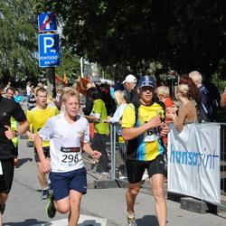 XII Jüri Jaansoni Kahe Silla jooks - Aarne Vasarik (586), Taimar Midenbritt (646)