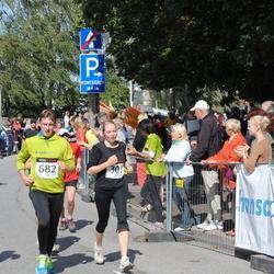 XII Jüri Jaansoni Kahe Silla jooks - Hannely Aitman (301), Brandon Loorits (309), Mirek Paloson (682)