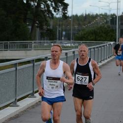 XII Jüri Jaansoni Kahe Silla jooks - Kalev Õisnurm (16), Ago Veilberg (627)