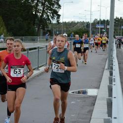 XII Jüri Jaansoni Kahe Silla jooks - Birgit Pihelgas (63), Arvi Anton (728)