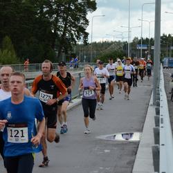 XII Jüri Jaansoni Kahe Silla jooks - Rauno Merila (121), Annika Vaher (571), Arne Türkson (1275)