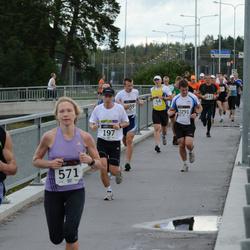 XII Jüri Jaansoni Kahe Silla jooks - Taavi Tuur (197), Annika Vaher (571), Pjotr Hrushov (1225), Peeter Karin (2291)