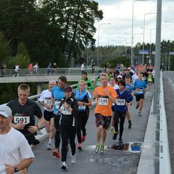XII Jüri Jaansoni Kahe Silla jooks - Mirek Paloson (682), Carmine Winterstein (968), Raigo Kasu (1145), Maris Jaama (1432)