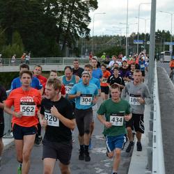 XII Jüri Jaansoni Kahe Silla jooks - Joann Vunk (188), Toomas Holm (304), Arlet Robert Uusna (320), Martin Maasikas (434), Andrei Tšerednik (562), Toomas Laimets (1041)