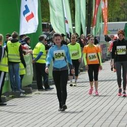 SEB 28. Maijooks - Siiri Nool (504), Birgit Paltsmar (536)