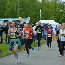 SEB 28. Maijooks - Esther Lätte (221), Liisa Perejainen (648), Adele Rüütel (2012)