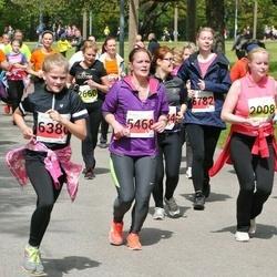 SEB 28. Maijooks - Sandra Vaikna (2008), Kristina Ilings (5468), Annette Maria Hermaküla (6386), Liina Salumets (6782)