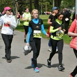 SEB 28. Maijooks - Anna Lavrentsova (2670), Galina Pilat (2674)