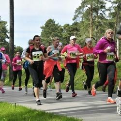 SEB 28. Maijooks - Maris Järveoja (211), Riita Järve (654), Reelika Saar (1192), Annika Kraaner (2032)