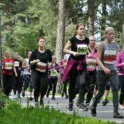 SEB 28. Maijooks - Riina Linaste (349), Andra Siinmaa (567), Liina Gatski (1329), Hana Saarna (5922)